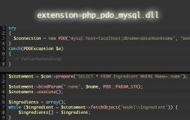 CRUD in PHP und MySQL mit PDO erstellen