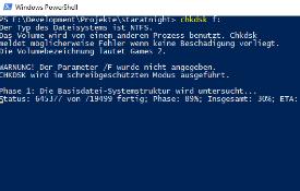 Für Windows ungültige Dateinamen auf einem USB-Stick reparieren
